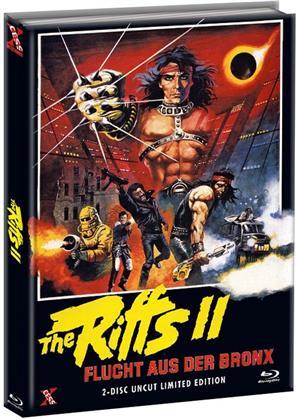 The Riffs 2 - Flucht aus der Bronx (1983) (Cover A, Edizione Limitata, Mediabook, Uncut, Blu-ray + DVD)
