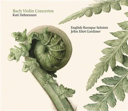 Johann Sebastian Bach (1685-1750), Sir John Eliot Gardiner, Kati Debretzeni & English Baroque Soloists - Violin Concertos