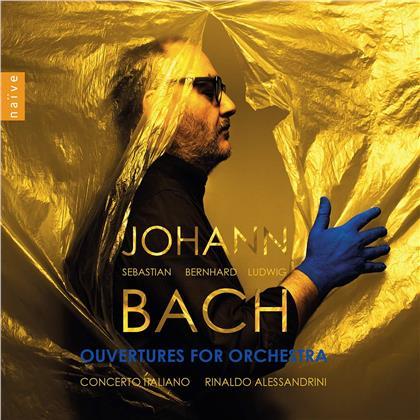 Johann Sebastian Bach (1685-1750), Rinaldo Alessandrini & Concerto Italiano - Overtures For Orchestra (2 CDs)
