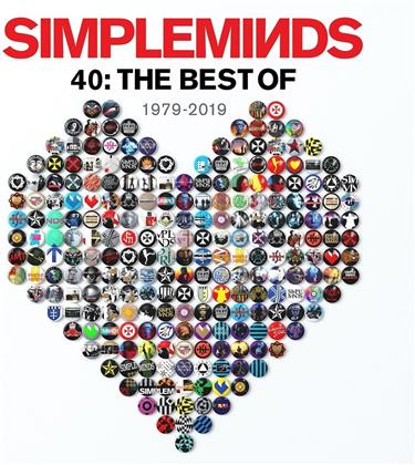 Simple Minds - 40: The Best Of 1979-2019 (Deluxe Edition, 3 CDs)