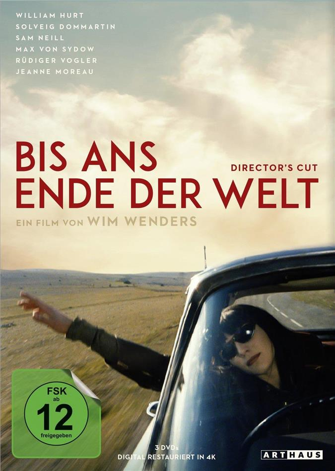 Bis ans Ende der Welt (4K-restauriert, Director's Cut, 3 DVD)