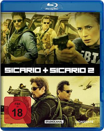 Sicario (2015) / Sicario 2 - Soldado (2018) (2 Blu-rays)