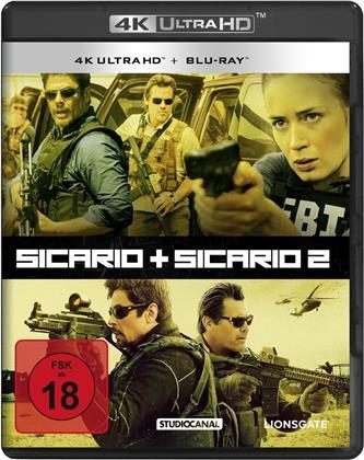 Sicario (2015) / Sicario 2 - Soldado (2018) (2 4K Ultra HDs + 2 Blu-rays)