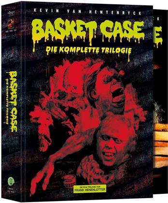 Basket Case 1-3 - Die komplette Trilogie (Schuber, Poster, Edizione Limitata, Mediabook, 4 Blu-ray + 4 DVD)