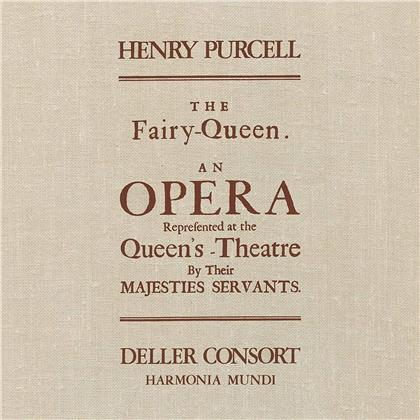Alfred Deller, Deller Consort & Henry Purcell (1659-1695) - The Fairy Queen (LP)