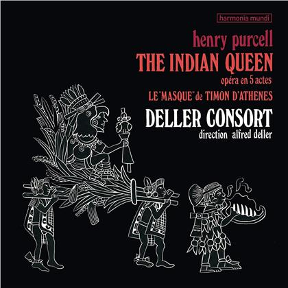 Alfred Deller & Henry Purcell (1659-1695) - Indian Queen (LP)