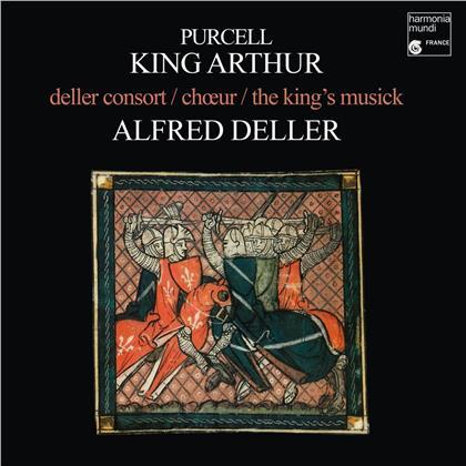 Alfred Deller & Henry Purcell (1659-1695) - King Arthur (LP)