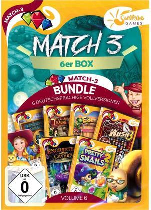Match 3 6-er Box Vol. 6