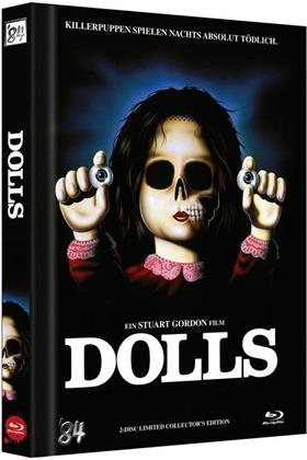 Dolls (1987) (Cover A, Limited Collector's Edition, Mediabook, Uncut, Blu-ray + DVD)