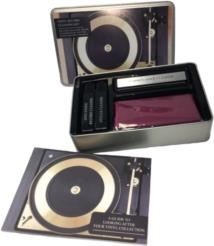 Vinyl Record Cleaning Kit - Includes: Anti Static Brush. Cleaning Fluid. Cloth and Booklet A Guide To Looking After Your Vinyl Collection