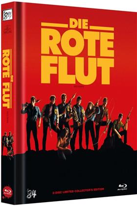 Die Rote Flut (1984) (Cover B, Limited Collector's Edition, Mediabook, Uncut, Blu-ray + DVD)