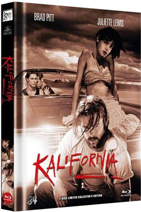 Kalifornia (1993) (Cover C, Limited Collector's Edition, Mediabook, Uncut, Blu-ray + DVD)