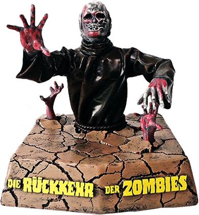 Die Rückkehr der Zombies (1981) (con Figurina, Edizione Limitata, Mediabook, Blu-ray + DVD)
