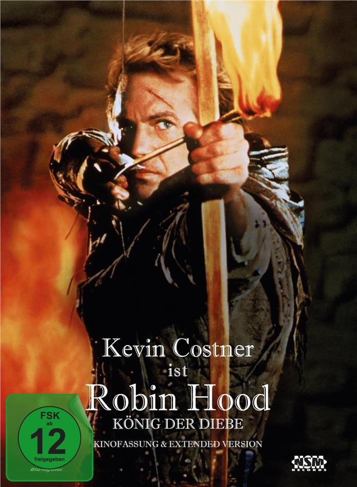 Robin Hood - König der Diebe (1991) (Extended Edition, Kinoversion, Limited Edition, Mediabook, 2 Blu-rays)