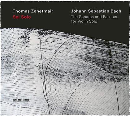 Thomas Zehetmair & Johann Sebastian Bach (1685-1750) - Sei Solo - The Sonatas And Partitas For Violin Solo (2 CD)