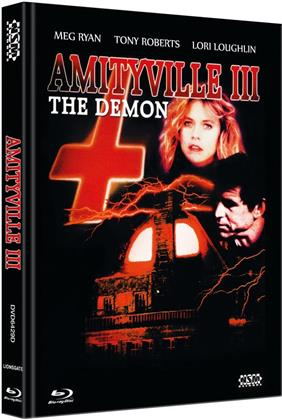 Amityville 3 - The Demon (1983) (Cover D, Limited Collector's Edition, Mediabook, Blu-ray + DVD)