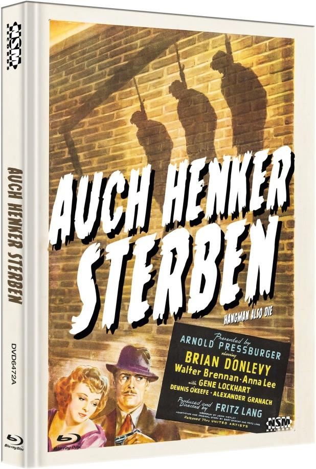 Auch Henker sterben (1943) (Cover A, Limited Collector's Edition, Mediabook, Blu-ray + DVD)