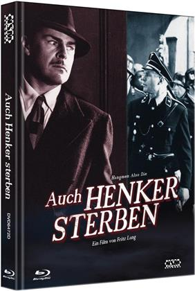 Auch Henker sterben (1943) (Cover D, Collector's Edition Limitata, Mediabook, Blu-ray + DVD)