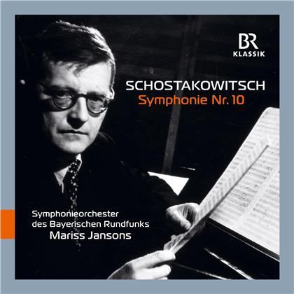 Dimitri Schostakowitsch (1906-1975), Mariss Jansons & Symphonieorchester des Bayerischen Rundfunks - Symphony 10
