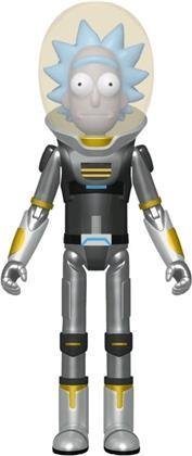 Funko Action Figure: - Rick & Morty- Space Suit Rick (Metallic)