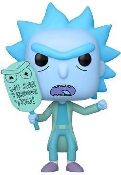 Funko Pop! Animation: - Rick & Morty - Hologram Rick (Gw)