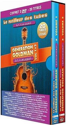 Karaoke - Gérénation Goldman en Karaoké - Vol. 1 & 2 (2 DVDs)