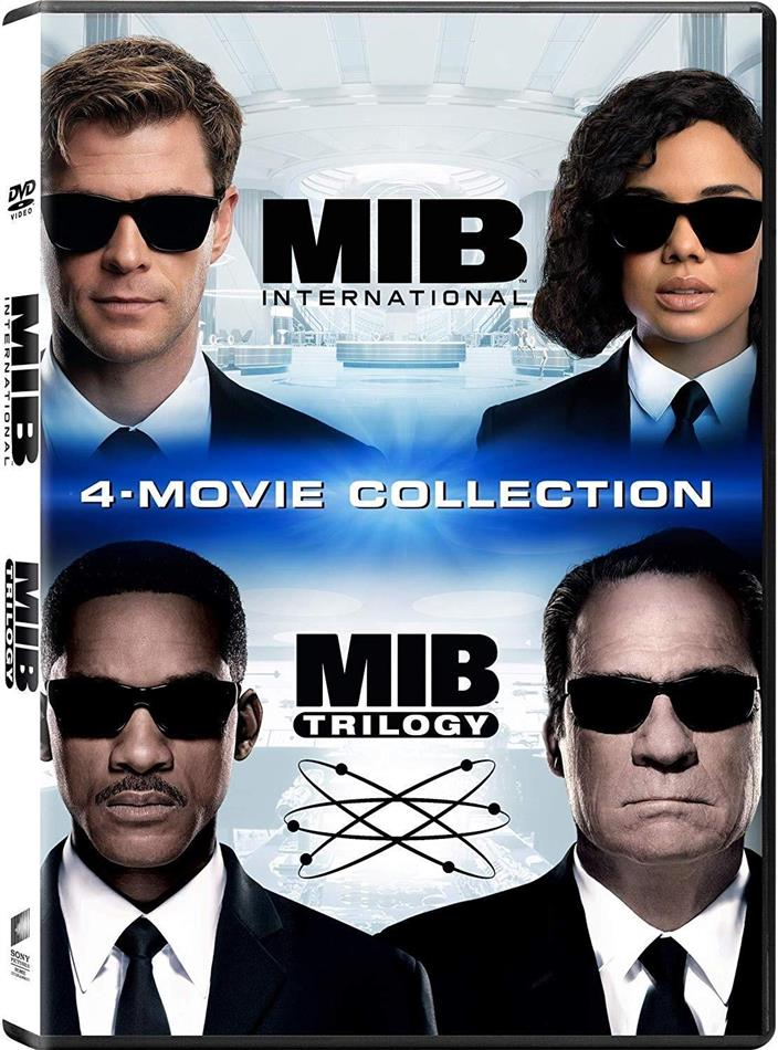 Men in Black Trilogy & Men in Black: International - 4-Movie Collection (4 DVD)
