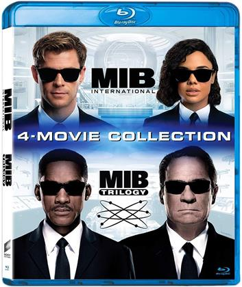 Men in Black Trilogy & Men in Black: International - 4-Movie Collection (4 Blu-ray)