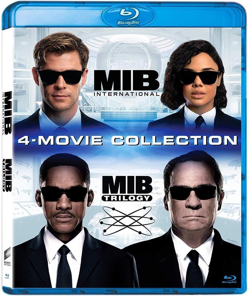 Men in Black Trilogy & Men in Black: International - 4-Movie Collection (4 Blu-ray)