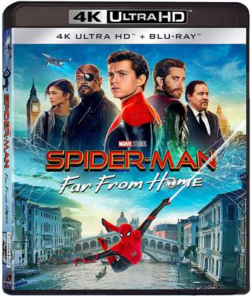 Spider-Man: Far From Home (2019) (4K Ultra HD + Blu-ray)