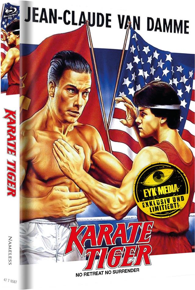 Karate Tiger (1986) (Cover F, Limited Edition, Mediabook, Uncut, 2 Blu-rays)