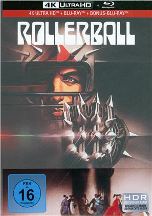 Rollerball (1975) (Limited Collector's Edition, Mediabook, Remastered, Restaurierte Fassung, 4K Ultra HD + 2 Blu-rays)