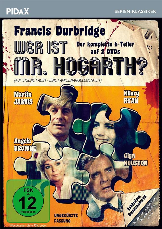Wer ist Mr. Hogarth? - Der komplette 6-Teiler (Pidax Serien-Klassiker, 2 DVDs)