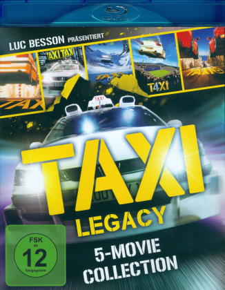 Taxi Legacy - 5-Movie Collection (5 Blu-rays)