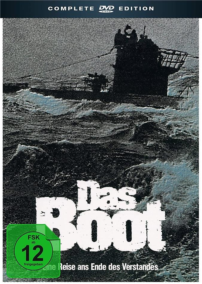 Das Boot - Complete Edition (Director's Cut, Kinoversion, 5 DVDs + CD + 2 Hörbücher)