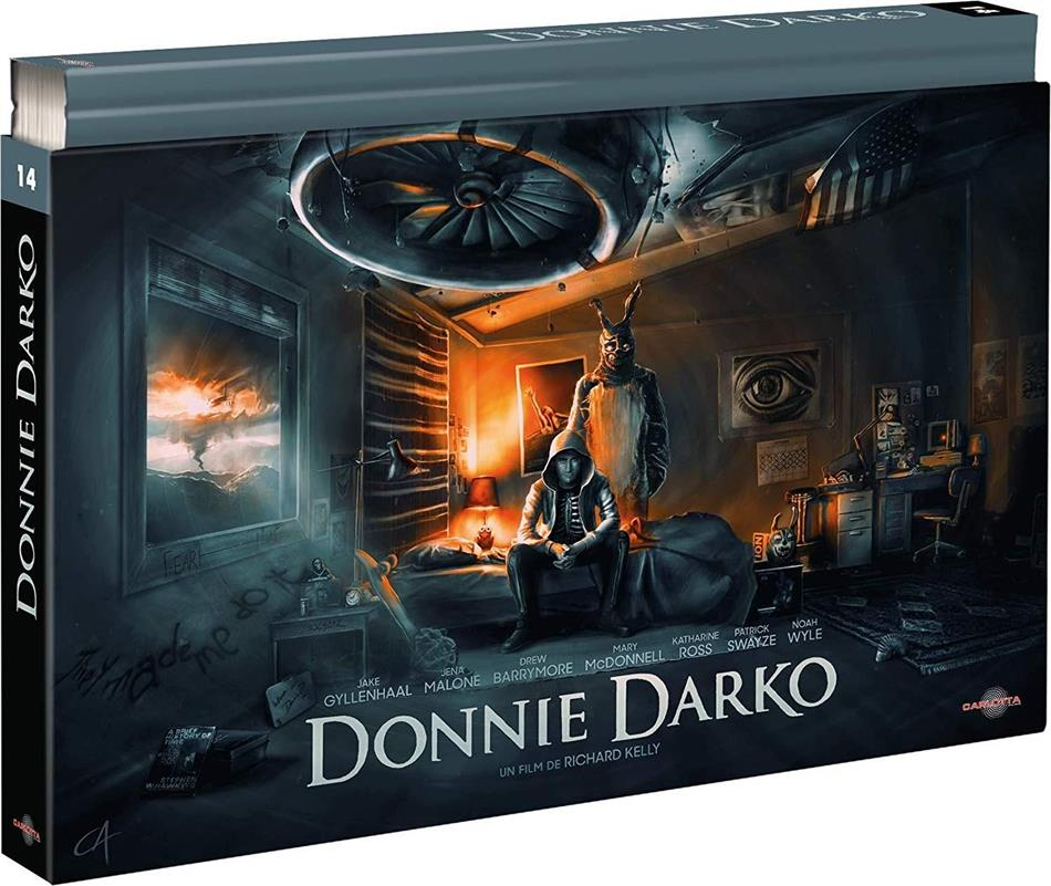 Donnie Darko (2001) (Collector's Edition, Director's Cut, Kinoversion, Limited Edition, 2 Blu-rays + 2 DVDs + Buch)