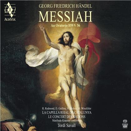 Georg Friedrich Händel (1685-1759), Jordi Savall, La Capella Reial De Catalunya & Le Concert des Nations - Messiah (Hybrid SACD + SACD)
