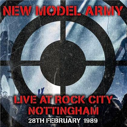 New Model Army - Live At Rock City Nottingham 1989 (2 CDs)