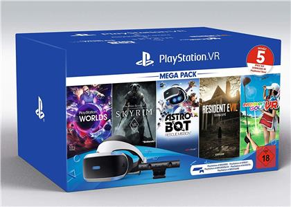 Playstation VR Mega Pack 2 + Kamera + 5 Games