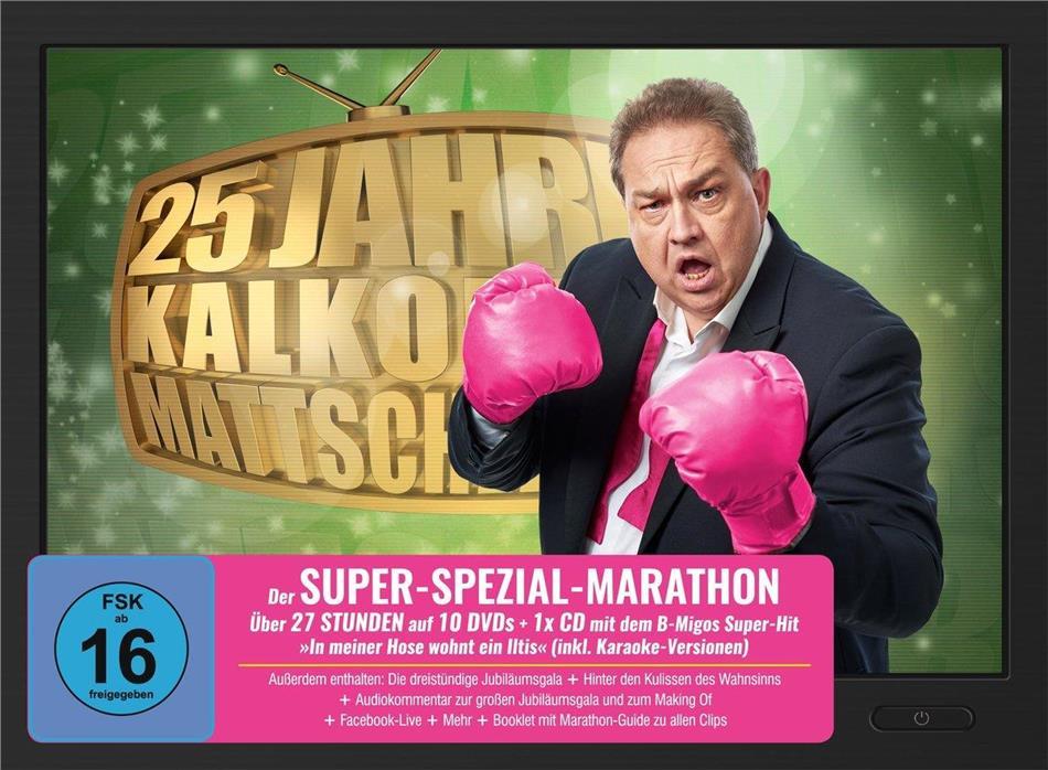Kalkofes Mattscheibe - 25 Jahre Kalkofes Mattscheibe (Super-Spezial-Marathon, 11 DVDs)