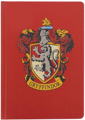 Harry Potter - Gryffindor - A5 Hard Cover Notebook