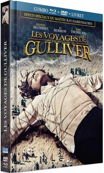 Les voyages de Gulliver (1960) (Mediabook, Blu-ray + DVD)