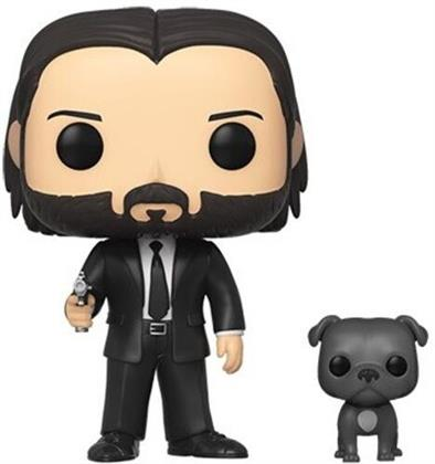 Funko Pop & Buddy: - John Wick - John (Black Suit) W/Dog