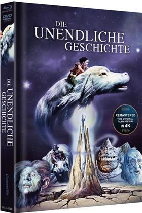 Die unendliche Geschichte (1984) (Cover Blau, Edizione Limitata, Mediabook, Versione Rimasterizzata, Blu-ray + DVD)