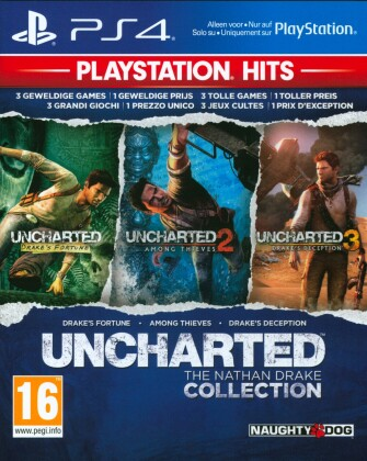 PlayStation Hits - Uncharted Collection