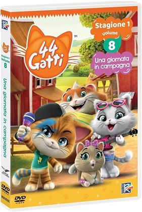 44 Gatti - Vol. 8 - Una giornata in campagna