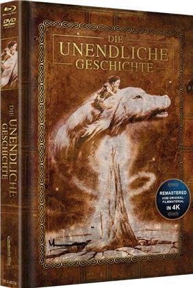 Die unendliche Geschichte (1984) (Cover Braun, Edizione Limitata, Mediabook, Versione Rimasterizzata, Blu-ray + DVD)