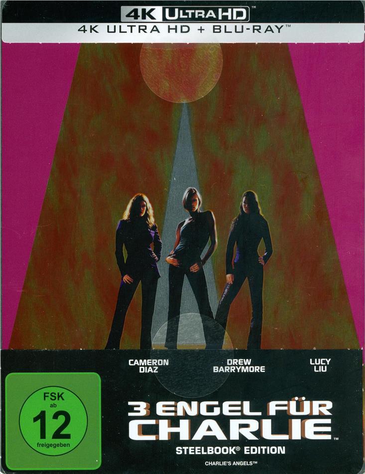 3 Engel für Charlie (2000) (Limited Edition, Steelbook, 4K Ultra HD + Blu-ray)