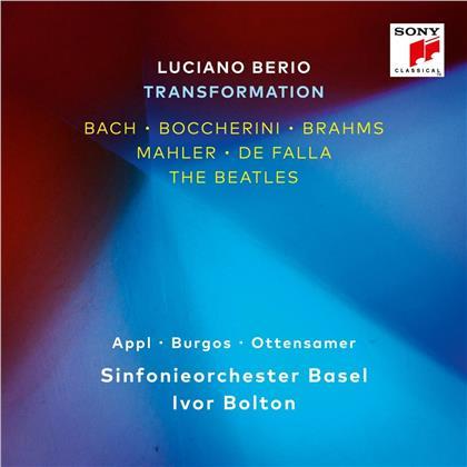 Luciano Berio (1925 - 2003), Johann Sebastian Bach (1685-1750), Luigi Boccherini (1743-1805), Johannes Brahms (1833-1897), Gustav Mahler (1860-1911), … - Luciano Berio - Transformation (2 CDs)