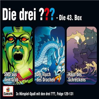 Die Drei ??? - 043/3er Box (Folgen 129,130,131) (3 CDs)